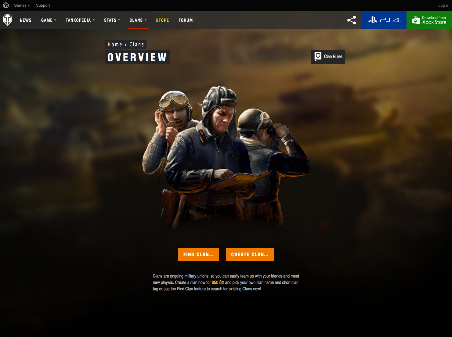 World of Tanks Console Portal | obive net