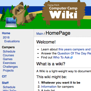 Icon for Wiki